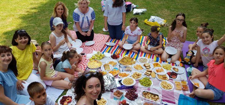 Пікнік у Люксембурзькому саду