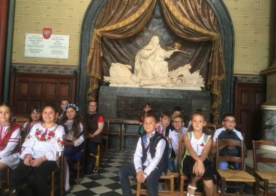 Козацькі розваги в українській школи Святого Володимира в Парижі
