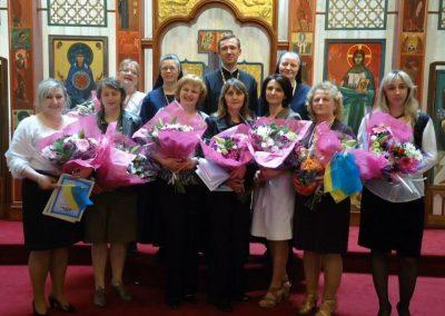 Вчителі української школи Святого Володимира в Парижі