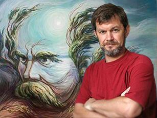 Інтерактивна виставка-зустріч «Двовзори по-українськи» з художником Олегом Шупляком